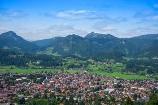 Oberstdorf von Ost