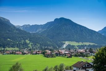 Oberstdorf von West